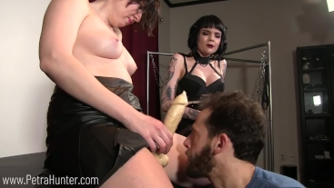 Super Balls Sunday: Humiliated and made to worship strap-ons