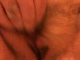 Rubbing my Pussy to Climax in my Parent's bathroom (Almost Caught!)