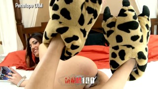 Trailer : Cute latina does foot job and deep throat