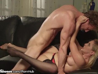 SweetSinner Cherie DeVille has Hot Lustful Sex with Hung Guy