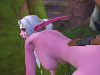 Priestess Rendezvous – World of Warcraft [Futa x Futa]