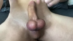 Jock Cums On Himself And Plays With Big Cock