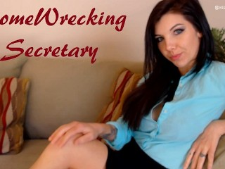 Homewrecking Coworker Fucks You Better Than Your Wife Hot Secretary Fantasy
