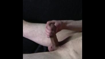masturbation with nice cumshot