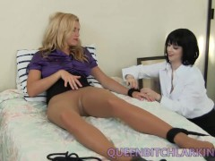 Lesbian Pantyhose Foot amp Pussy Licking
