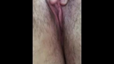 Close up wet Pussy POV Masturbation