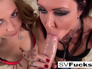 Fitness fuck morning sex with step mom in the sun mom mother old point of view my