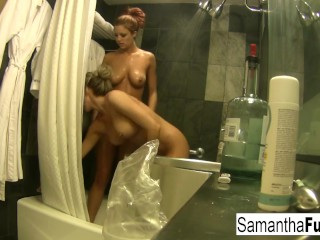 Sexy Samantha Saint Gets Wet And Naughty With Jayden Cole
