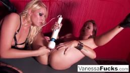 Vanessa Cage Decides To Show Off Her Wilder Side
