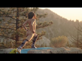 Publik Nudes And Squirt In National Park