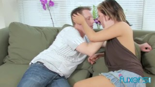MILF loves m young and shy