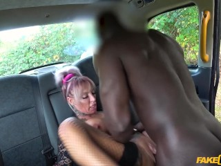 Wife Hairy Pussy Creampie Fucking, Fake Taxi- Busty stripper wants big black cock Big Dick Big Tits