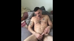Wanna watch a hot hairy stud stroke one out?