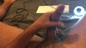 Sexy Artist with Giant Cock Blast Cum on Webcam