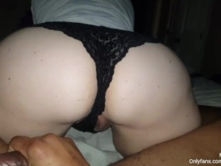 Sexy Plus Size Ass Pawg Wearing Lace Panties Bounce That Ass On A Real N Gga Dick