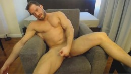 Most Beautiful Man In The World Jacking Off On Cam Having a Good Time