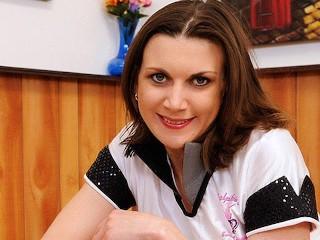 Waitress Valerie Voxx Drains Customer Dick