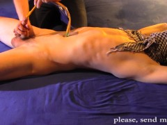 TEEN GAY SLAVE GAME WITH CATHETER - NICE SLAVE