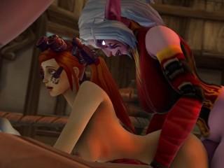World of Warcraft Christmas Futa Orgy (WARCRAFT SFM)