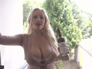 Glamkore - blonde nympho angel wicky anal sex
