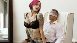 NF Busty - Anna Bell Peaks Ties Up Client For Kinky Hot Sex S1:E1