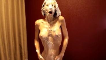 Wet & Messy Whip Cream Pie