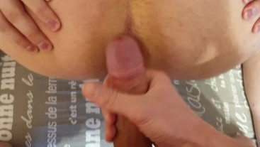 My boyfriend first time gets cock in ass
