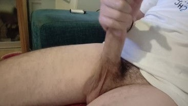 SOUNDING Mr Sweatpants BIG COCK with a spoon - Chaturbate ASMR