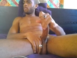 Sexy webcam cum blast from thick hairy huge...