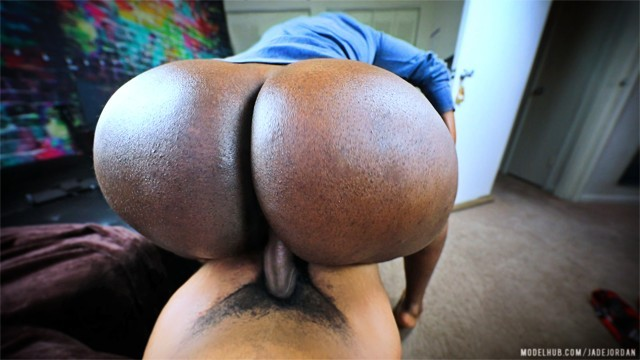 His BIGGEST LOAD On Her PHAT Ass