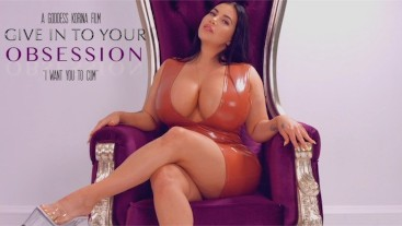 Obsessed with Korina Kova domination JOI with countdown