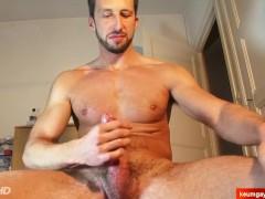 In porn in spite of him (next door gym guy gets wanked)