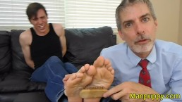 Straight Jock Bondage Foot Tickling - Aiden Valentine - Richard Lennox