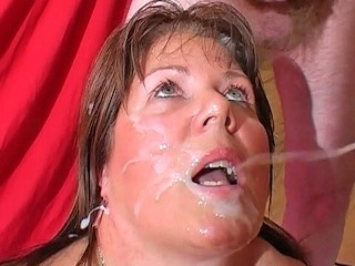 Beautiful middle aged woman wake up blowjob until he cums big boobs pov blowjob pov cum in mouth