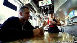 Waitress POV - Skylar Valentine - Pint-sized Pizzeria Girl