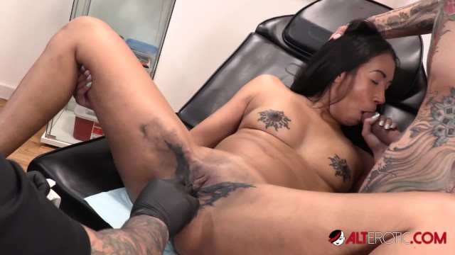 Sweet butterfly tattoo on pussy - Sindy ink butterfly pussy