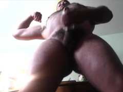POV Hairy Muscle Giant Fleshlight Stroke