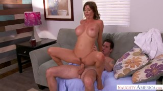 Hot Milf Alexis Fawx Fucks Her Son's Friend