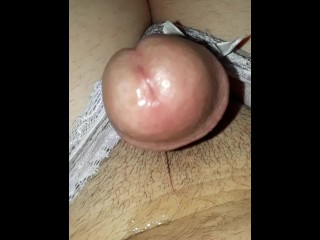 Femboy Teasing Herself Leads To A Giant Explosion Of Cum