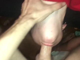 Teen Throat Fucked By White Cock
