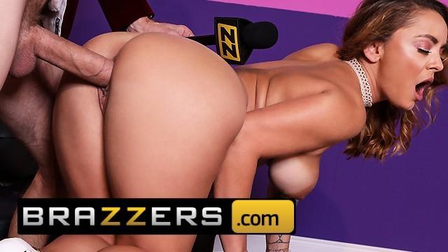 BRAZZERS – Danny D makes Liza Del cuck her black bf