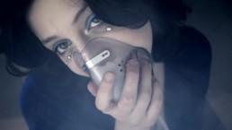 Blue Velvet Film Club Homage Glass Dildo Fuck and Respirator Mask