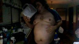 Milk shake chug