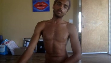 Sexy Nude Dancing to Music On My Web Cam
