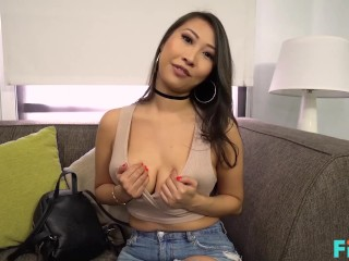 FILF - Hot Asian MILF Sharon Lee Fucks To Get A Room