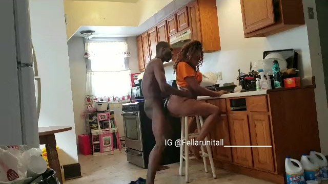 Sex In The Kitchen Got Real Messy