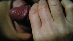 Hottie sucking big cock blindfold public hidden, secret blowjob