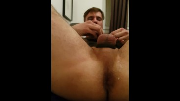 Horny fun with cum end
