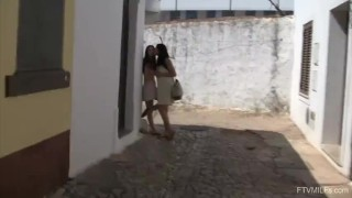 Kinky Lesbians Stella and Francesca In Portugal Fisting Pissing and More