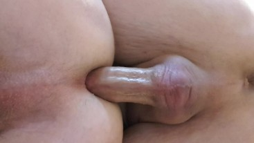 Boyfriend loves my tight ass to fuck hard and sweet. Close up bottom views